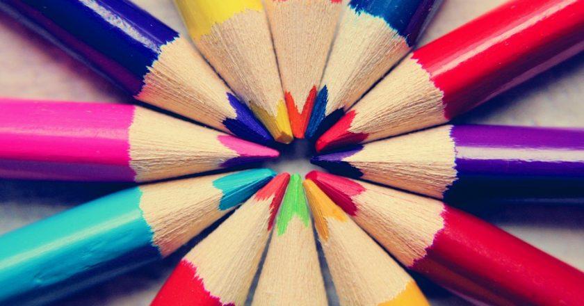 Acrylfarbe mischen